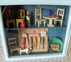 miniature shadow box
