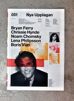 Cosas Visuales Newpaper.  Found this at Designspiration.  Very modernist and good choice of colours too. Could do a short newspaper for the Artefact.