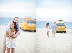 hermosa beach engagement photographer / christine + justin