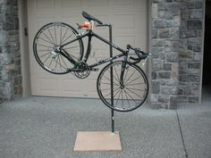 Jake Khuon's Casual Ponderings and Pontifications: Homemade Bicycle Repair Stand