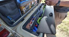 Internal Tailgate Storage | In-Vehicle Kitchen setups, Northwest Overland