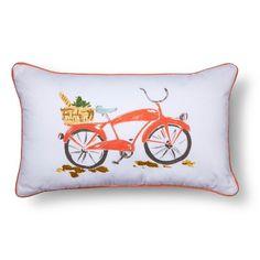 Bike Pillow, Bicycle Pillow, novelty throw pillow, pillow gift, bike gift, urban bike pillow, modern home decor