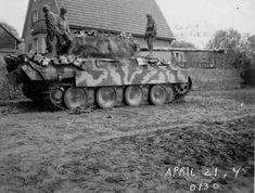 """Panther Panzerdivision """"CLAUSEWITZ"""", April 21st 1945. 