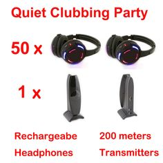 Like and Share if you want this  Silent Disco complete system black led wireless headphones - Quiet Clubbing Party Bundle (50 Headphones + 1 Transmitters)     Tag a friend who would love this!     FREE Shipping Worldwide   http://olx.webdesgincompany.com/    Buy one here---> http://webdesgincompany.com/products/silent-disco-complete-system-black-led-wireless-headphones-quiet-clubbing-party-bundle-50-headphones-1-transmitters/