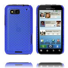 Atomic (Blå) Motorola Defy Cover