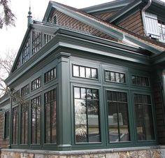 Custom Luxury Greenhouses - English Classic Victorian conservatories and Classic Style Sunroom Victorian Conservatory, Victorian Greenhouses, Conservatory Furniture, Backyard, Patio, House Extensions, Glass House, Architecture, My Dream Home