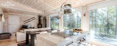 Moderni puuhuvila Aurinkotörmä | Modern wooden villa | Honkatalot.fi