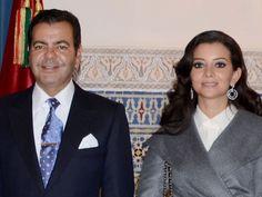 Prince Moulay Rachid et son épouse Lalla Oum Keltoum