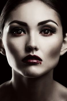 ♥ Halloween Rocks, Halloween Face Makeup, Halloween 2013, Vamp Makeup, Beauty Makeup, Gothic Vampire, Reserve, Portrait, Costume Ideas