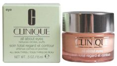 Clinique All About Eyes 0.5 oz /15 ML by Clinique. Evening eye cream, I'm only 22 and I am already seeing fine lines. This slows that nonsense down.