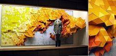 Anthropologie paper display