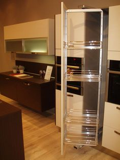 Rotating Pull Out Drawers Modern Kitchen. Find This Pin And More On Space Saving  Ideas ...