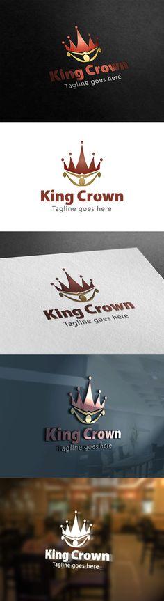 King Crown Logo. Logo Templates. $28.00