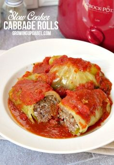 Cabbage rolls slow cooked in a slow cooker will be moister and more flavorful…