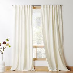 Ivory Velvet Curtain Panel is part of Rustic Living Room Curtains - velvet frames your windows in luxurious warmth Rich in texture and beauty, plush ivory panels also reduce sound and darken the room exclusive Silver Grey Curtains, White Velvet Curtains, Ivory Curtains, Striped Curtains, Floral Curtains, Rustic Curtains, Modern Curtains, Panel Curtains, Bedroom Curtains