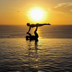 Just did this at beach today! So awesome! Acroyoga