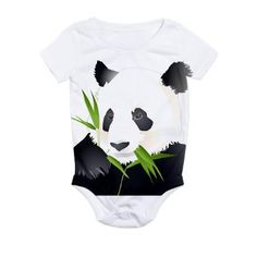 Panda Bear All Over Print Bodysuit
