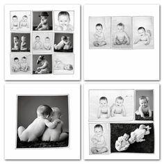 Photographer Cafe — Artisan Square Collage Set