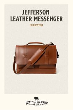This vintage inspired collection of premium leather bags is perfect for men who appreciate quality and style. Handcrafted brown leather briefcase, attache, duffle, messenger bag, dopp kit, wallets, and more. Great gift ideas! Brown Leather Messenger Bag, Messenger Bag Men, Leather Satchel, Leather Briefcase, Waxed Canvas Bag, Commuter Bag, Best Gifts For Men, Leather Bags Handmade, Vintage Men
