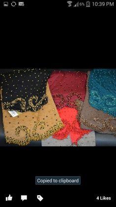 Chiffon handmade scarves - Colorful_hijab