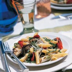 Grilled Italian Vegetables with Pasta | CookingLight.com