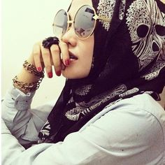 Edgy. #hijab
