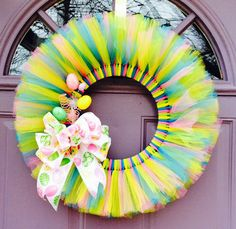 Best tulle wreath
