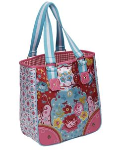 I can't find the original link, but the bag is adorable! Pip Studio Circus Shopper. Main website - http://www.gilliangladrag.co.uk/ - has lots of nice supplies.