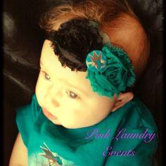 OMG!!!!! San Jose Sharks Baby Headband Toddler Girl by PinkLaundryEvts, $12.00