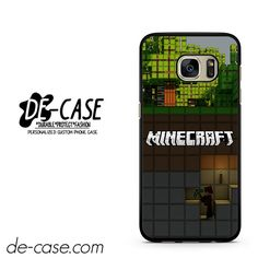 Minecraft Diging DEAL-7273 Samsung Phonecase Cover For Samsung Galaxy S7 / S7 Edge