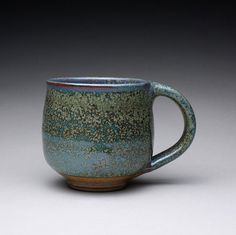 handmade pottery mug ceramic cup teacup with by rmoralespottery, $27.00