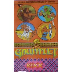 Gauntlet for Amstrad CPC by Kixx on Tape