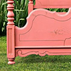 Video Tutorial showing how you can make painted furniture look old. The secret is dark wax and the process of antiquing the paint is easy. Furniture Projects, Furniture Makeover, Cool Furniture, Painted Furniture, Refinished Furniture, Furniture Dolly, Diy Projects, Painted Wood Headboard, Painted Beds