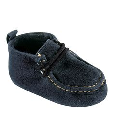 Take a look at this Navy Moccasin - Infant today!