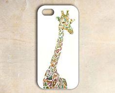 unique iphone 5 case - giraffe iphone 5 case iphone 5 cover. $14.50, via Etsy.