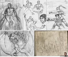 Just some recent sketches I've done in the previous year, showing everyone what I do on my spare time.