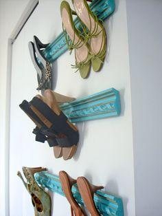 Para ordenar los zapatos