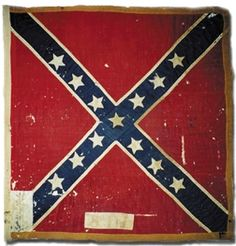 "Battle Flag of the 8th Florida Infantry.  In the summer of 1862, the 8th Florida Infantry Regiment was assigned to E.A. Perry's newly formed Florida Brigade alongside the 2nd and 5th Florida. Perry's Brigade served under Anderson's Division of Longstreet's First Corps, of the Army of Northern Virginia.  The regiment participated in 17 major engagements with the Army of Northern Virginia, including  ""Pickett's Charge"" on July 3, 1863."