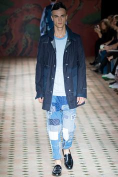 Junya Watanabe's patchwork jeans is extremely amazing