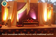 Beautiful #StageSetups by #Pandhi#Decorators. click on the link to book now: http://goo.gl/b8Yj6q