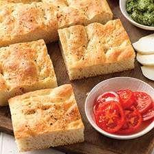 No knead foccocia