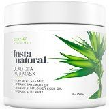 >> Win a Bath&Body gift card: http://dealz.space/bath-body-giftcard << InstaNatural Dead Sea Mud Mask  Reduce Facial Pores  Organic for Oily & Acne Prone Skin Blemishes & Complexion  Mineral Infused Fine Line Reducing Product with Shea Butter & Aloe Vera  19 OZ sale