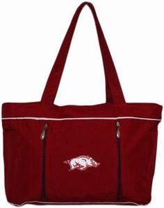 Arkansas Razorbacks Baby Diaper Bag