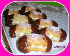 Pořád o nich čtu jak jsou výborný, tak jsem je vyzkoušela. Czech Desserts, Eastern European Recipes, Czech Recipes, Pretzel Bites, Amazing Cakes, Yummy Treats, Sweet Recipes, Baked Goods, Sweet Tooth