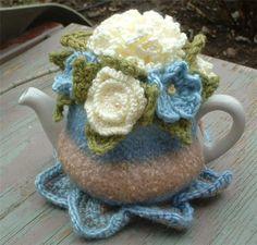 """Gallery.ru / Чайная одежка """"Голубые цветы"""" - Это что-то!!! - Los-ku-tik"""