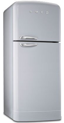 50's style fridge
