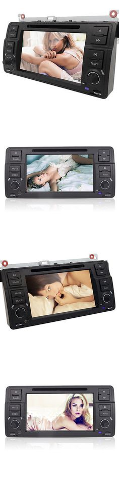 Video In-Dash Units w GPS: 7 Touch Screen Car Dvd Player Stereo Gps Bt Mp3 Cd For Bmw 3 Series E46 A -> BUY IT NOW ONLY: $236 on eBay!