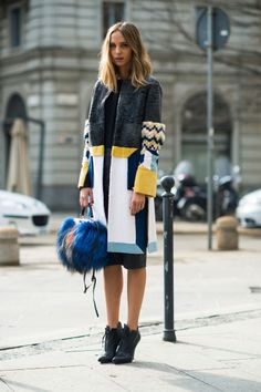 20 Glorious Street Style Snaps from Milan Fashion Week | StyleCaster