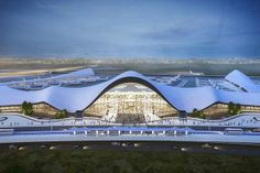 LaGuardia Airport in New York desperately needs a redesign. This concept looks promising: