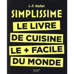 Librairie Filigranes - Livre de cuisine Simplissime